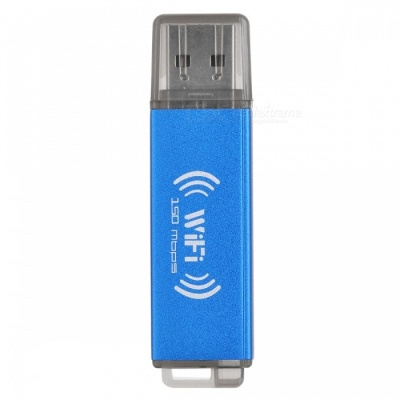 BSTUO USB 2.0 150Mbps Wi-Fi Wireless Network Card - Blue