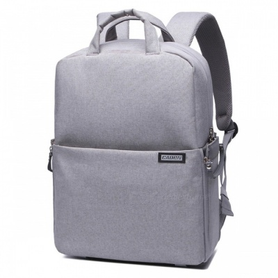 CADEN L5 Waterproof Camera Backpack for Canon, Nikon - Grey