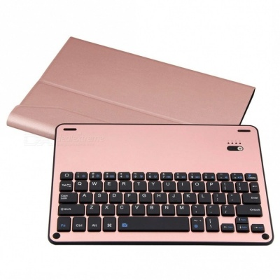 "Slim Detachable Keyboard with Case Stand for IPAD Pro10.5"" - Rose Gold"