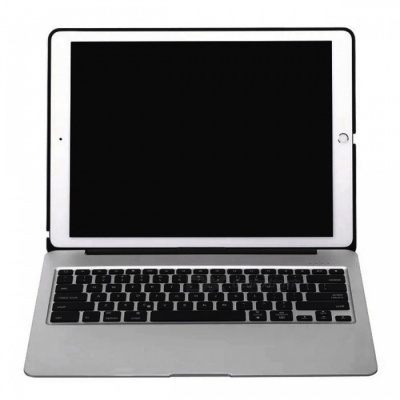 "Backligt Power Bank Bluetooth Keyboard Case for IPAD Pro 12.9"" - Gray"
