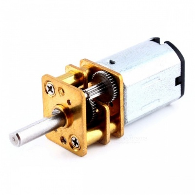 ZHAOYAO DC 6V 100RPM Micro Electric Full Metal Speed Mini Gear Motor