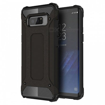 Adeline Series Shockproof Protective Case for Galaxy Note8 - Black