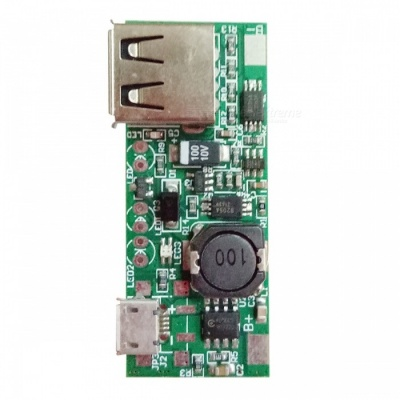 DIY Boost Board Micro USB 5V 1A Power Supply Module