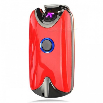 SPO USB Rechargeable Double Arc Lighter - Red