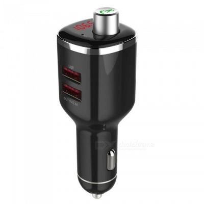 BC23 Hands-free Bluetooth Player, Car Charger - Black