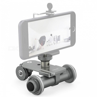 Motorized Electric 3-Wheel Video Pulley Car for Cannon Nikon Sony