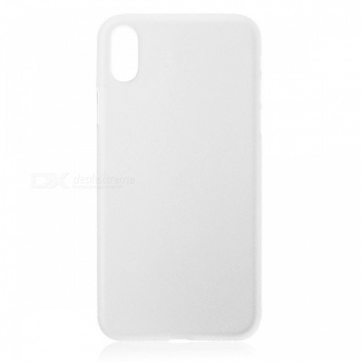 Protective Frosted TPU Back Case for IPHONE X - Translucent White