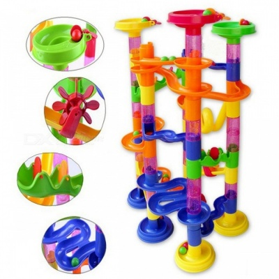 105Pcs DIY Pipeline Type Educational Toy