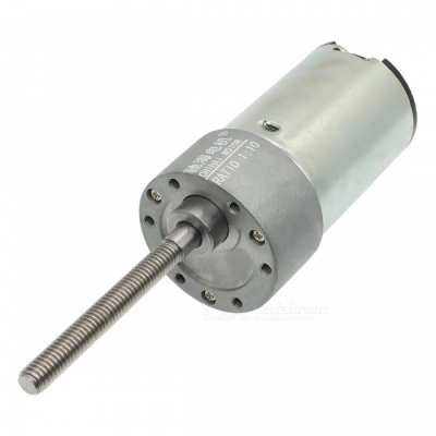 ChiHai Motor CHR-GM37-3448K DC CHINA Metric Screw Shaft Gear Motor 24V