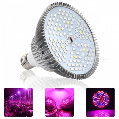YWXLight E27 24W Full Spectrum LED Plant Growth Lamp (AC 90-260V)
