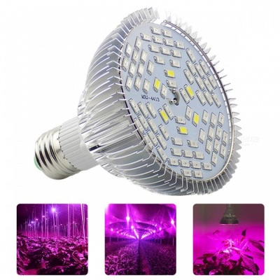 YWXLight E27 12W Full Spectrum LED Plant Growth Lamp (AC 90-260V)