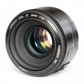YONGNUO YN EF 50mm F/1.8 Fixed Focus Lens for Canon DSLR