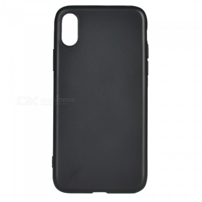 Protective TPU Back Case Cover for IPHONE X - Black