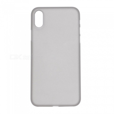 0.3mm Ultrathin PP Protective Case for IPHONE X - Translucent Gray