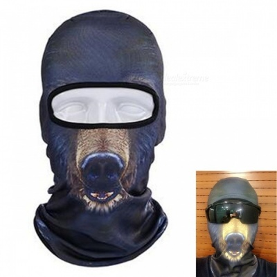 Creative Dustproof Unisex Bear Face Mask for Outdoor