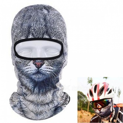 Creative Dustproof Unisex Cat Face Mask for Outdoor