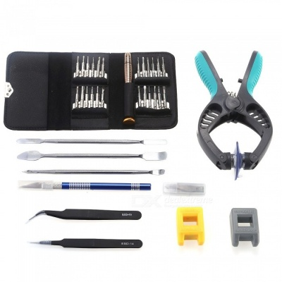 AS-103 35-Piece Screwdriver Set with Wallet-Type Storage Case