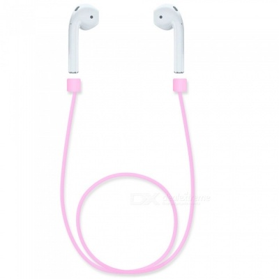 Kiccy Silicone Ear Loop Strap Anti Lost String Rope for AirPods - Pink
