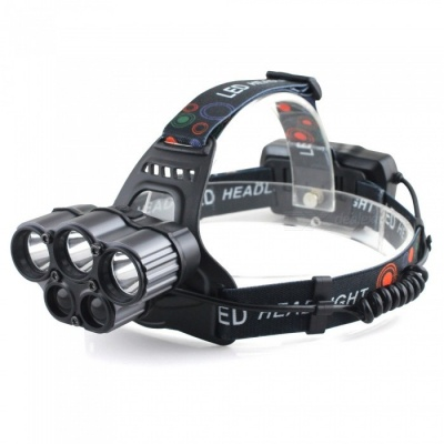 Outdoor LED Induction Headlight 800m Beam Range for Fishing / Camping