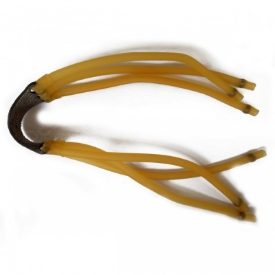 Triple Rubber Band Accessories for Slingshot - Yellow