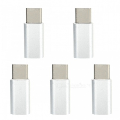 Mini Smile Type-C to Micro USB Adapter for Samsung Galaxy Note 8