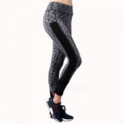 BARBOK LS111 Women's Stretchy Yoga Pants for Running / Jogging - XL