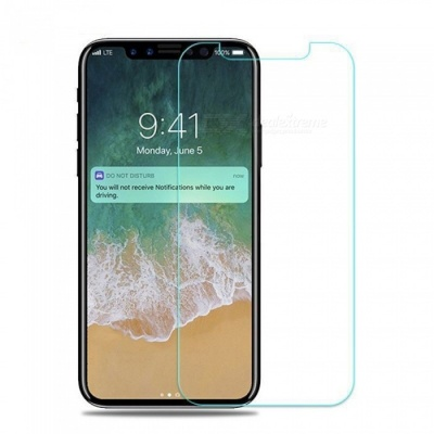 SZKINSTON 9H Smooth Tempered Glass Screen Protector Film for IPHONE X