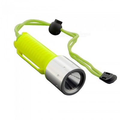 ZHAOYAO T6 Portable Scuba Diving Flashlight (1 x 18650 Not Included)