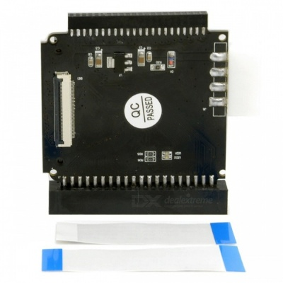 """CY EP-109 1.8"""" ZIF to 2.5"""" or 3.5"""" IDE Adapter"""