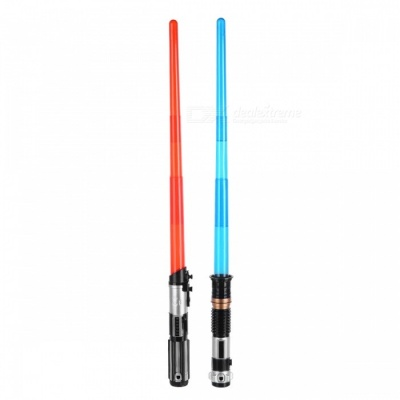 Double Light Saber Toy Sword for Boys, Christmas Gifts