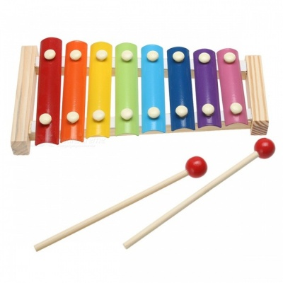 8-Note Wooden Musical Toy for Kids