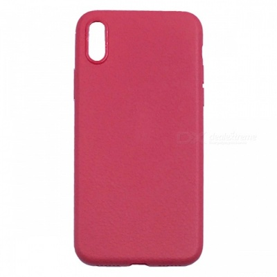 "ZHAOYAO Stylish TPU Protective Cover Case for IPhone X 5.8"" - Red"