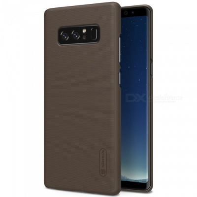 NILLKIN PC Hard Plastic Cover Case for Samsung Galaxy Note 8 - Brown