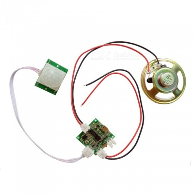5V Infrared Sensor Voice Combination Module (Random Color)