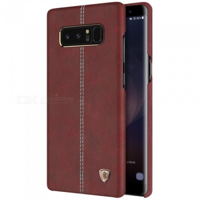 Nillkin Englon PU Leather Cover Case for Samsung Galaxy Note 8 - Brown