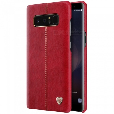 Nillkin Englon PU Leather Cover Case for Samsung Galaxy Note 8 - Red