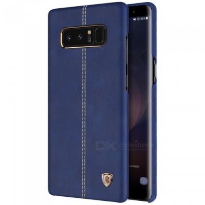 Nillkin Englon PU Leather Cover Case for Samsung Galaxy Note 8 - Blue