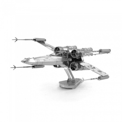DIY Jigsaw Puzzle 3D Star Wars X Wing Fighter Assembly Model Toy