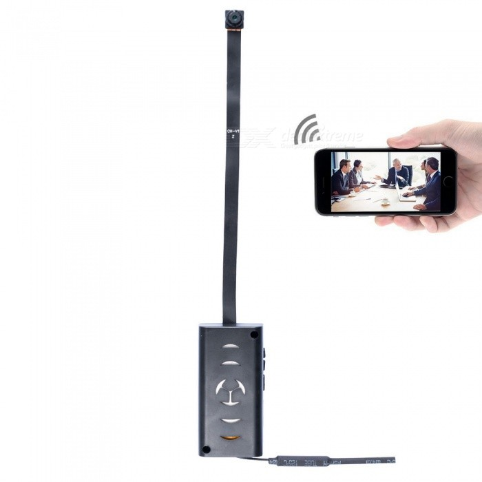 ENKLOV 1080P Mini Wi-Fi Camera with Built-in Lithium Battery