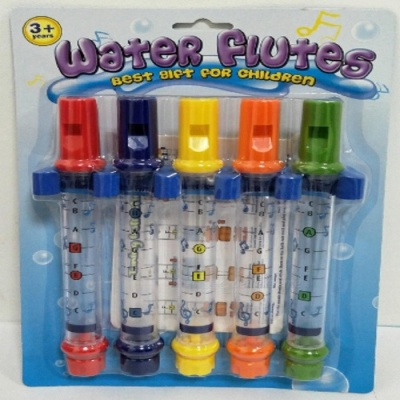 Five-Color Water Flute Toy for Kids - Multi-Color