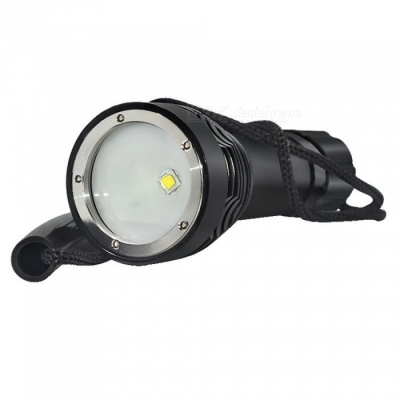 SPO Professional 4-Mode Underwater Diving Flashlight
