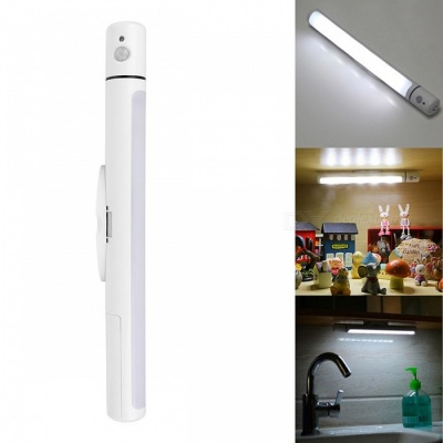 IR Motion Sensor LED Night Light for Indoor Lighting - White