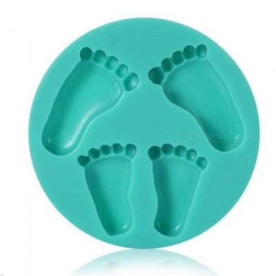 Bigfoot Cake Flip Sugar Mold - Green