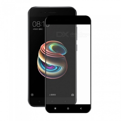 Hat-Prince 0.2mm 9H 3D Full Cover Protector for XIAOMI MI 5X - Black