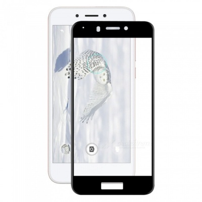Hat-Prince 0.2mm 9H 3D Full Cover Protector for Honor 6A - Black