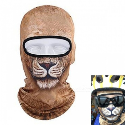 Creative Unisex Dustproof Lion Face Mask for Outdoor