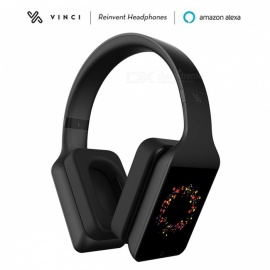 VINCI 1.5 Lite Amazon Alexa Voice Controlling Artificial Intelligence HiFi Stereo Headphone - Black