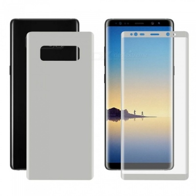 Hat-Prince 3D Full Screen Protector for Samsung Galaxy Note 8 - Silver