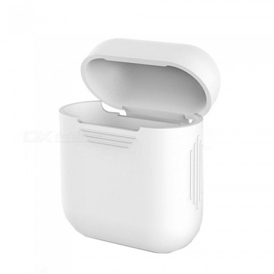 OJADE Silicone Gel  Mini Travel Earphone Protector Cover Case Box - White