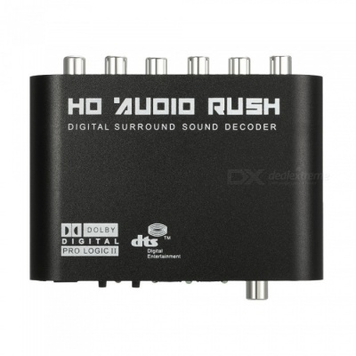 AC3 Optical to Stereo Surround Analog HD 5.1 Audio Decoder for Xbox (US Plug)
